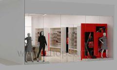 Дизайн магазина обуви торговое оборудование ГЛАМУР Дизайн 16