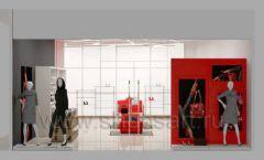 Дизайн магазина обуви торговое оборудование ГЛАМУР Дизайн 17