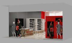 Дизайн магазина обуви торговое оборудование ГЛАМУР Дизайн 18