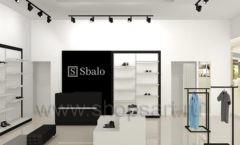 Дизайн интерьера магазина обуви Sbalo ТРЦ Спектр торговое оборудование СТИЛЬ ЛОФТ Дизайн 02