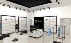 Дизайн интерьера магазина обуви Sbalo ТРЦ Спектр торговое оборудование СТИЛЬ ЛОФТ Дизайн 03