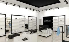Дизайн интерьера магазина обуви Sbalo ТРЦ Спектр торговое оборудование СТИЛЬ ЛОФТ Дизайн 04