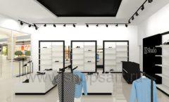 Дизайн интерьера магазина обуви Sbalo ТРЦ Спектр торговое оборудование СТИЛЬ ЛОФТ Дизайн 05