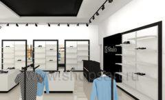 Дизайн интерьера магазина обуви Sbalo ТРЦ Спектр торговое оборудование СТИЛЬ ЛОФТ Дизайн 06