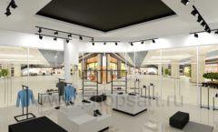 Дизайн интерьера магазина обуви Sbalo ТРЦ Спектр торговое оборудование СТИЛЬ ЛОФТ Дизайн 07