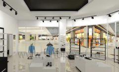 Дизайн интерьера магазина обуви Sbalo ТРЦ Спектр торговое оборудование СТИЛЬ ЛОФТ Дизайн 08