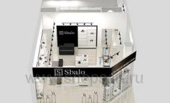 Дизайн интерьера магазина обуви Sbalo ТРЦ Спектр торговое оборудование СТИЛЬ ЛОФТ Дизайн 14