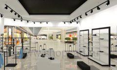 Дизайн интерьера магазина обуви Sbalo ТРЦ Спектр торговое оборудование СТИЛЬ ЛОФТ Дизайн 15