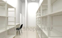 Дизайн интерьера магазина обуви Sbalo ТРЦ Спектр торговое оборудование СТИЛЬ ЛОФТ Дизайн 16