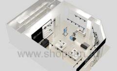 Дизайн интерьера магазина обуви Sbalo ТРЦ Спектр торговое оборудование СТИЛЬ ЛОФТ Дизайн 19