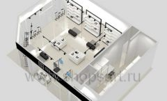 Дизайн интерьера магазина обуви Sbalo ТРЦ Спектр торговое оборудование СТИЛЬ ЛОФТ Дизайн 20