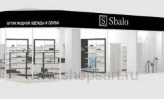 Дизайн интерьера магазина обуви Sbalo ТРЦ Спектр торговое оборудование СТИЛЬ ЛОФТ Дизайн 22