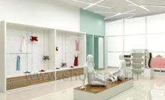 Дизайн интерьера магазина нижнего белья торговое оборудование ИЗУМРУД Дизайн 01