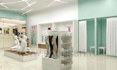 Дизайн интерьера магазина нижнего белья торговое оборудование ИЗУМРУД Дизайн 03