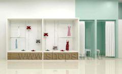 Дизайн интерьера магазина нижнего белья торговое оборудование ИЗУМРУД Дизайн 05