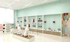 Дизайн интерьера магазина нижнего белья торговое оборудование ИЗУМРУД Дизайн 06