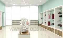 Дизайн интерьера магазина нижнего белья торговое оборудование ИЗУМРУД Дизайн 09