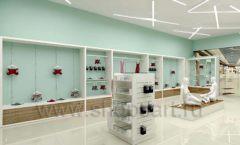 Дизайн интерьера магазина нижнего белья торговое оборудование ИЗУМРУД Дизайн 10