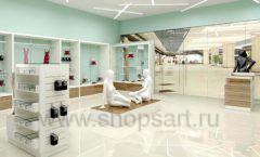 Дизайн интерьера магазина нижнего белья торговое оборудование ИЗУМРУД Дизайн 13