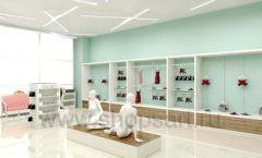 Дизайн интерьера магазина нижнего белья торговое оборудование ИЗУМРУД Дизайн 15