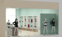 Дизайн интерьера магазина нижнего белья торговое оборудование ИЗУМРУД Дизайн 16