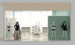 Дизайн интерьера магазина нижнего белья торговое оборудование ИЗУМРУД Дизайн 17