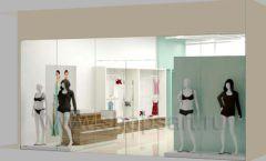 Дизайн интерьера магазина нижнего белья торговое оборудование ИЗУМРУД Дизайн 18