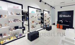 Торговое оборудование магазина обуви Sbalo СТИЛЬ ЛОФТ Фото 01