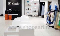 Торговое оборудование магазина обуви Sbalo СТИЛЬ ЛОФТ Фото 05