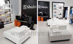 Торговое оборудование магазина обуви Sbalo СТИЛЬ ЛОФТ Фото 15