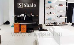 Торговое оборудование магазина обуви Sbalo СТИЛЬ ЛОФТ Фото 20