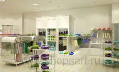 Дизайн интерьера детского магазина Винни ТЦ Юнимолл коллекция БЕЛАЯ КЛАССИКА Дизайн 03