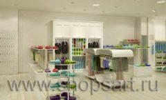 Дизайн интерьера детского магазина Винни ТЦ Юнимолл коллекция БЕЛАЯ КЛАССИКА Дизайн 05