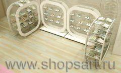 Дизайн интерьера детского магазина Винни ТЦ Юнимолл коллекция БЕЛАЯ КЛАССИКА Дизайн 12