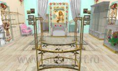 Дизайн интерьера 2 детского магазина Королевская вышивка коллекция ВИНТАЖ Дизайн 08