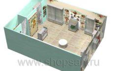 Дизайн интерьера 2 детского магазина Королевская вышивка коллекция ВИНТАЖ Дизайн 10