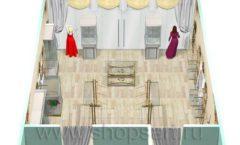 Дизайн интерьера 2 детского магазина Королевская вышивка коллекция ВИНТАЖ Дизайн 13
