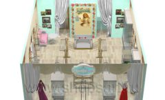 Дизайн интерьера 2 детского магазина Королевская вышивка коллекция ВИНТАЖ Дизайн 14