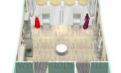 Дизайн интерьера 2 детского магазина Королевская вышивка коллекция ВИНТАЖ Дизайн 15