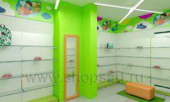 Дизайн детского магазина Емеля Южно-Сахалинск торговое оборудование КАРАМЕЛЬ Дизайн 08