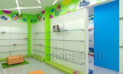 Дизайн детского магазина Емеля Южно-Сахалинск торговое оборудование КАРАМЕЛЬ Дизайн 12