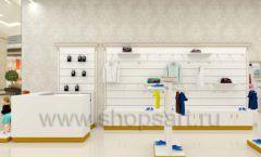 Дизайн детского магазина Minimoda коллекция торгового оборудования ЭЛИТ ГОЛД Дизайн 07