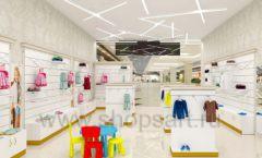 Дизайн детского магазина Minimoda коллекция торгового оборудования ЭЛИТ ГОЛД Дизайн 08