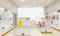 Дизайн детского магазина Minimoda коллекция торгового оборудования ЭЛИТ ГОЛД Дизайн 11