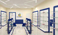 Дизайн магазина детской обуви Котофей Москва торговое оборудование СИНИЙ ВЕТЕР Дизайн 11