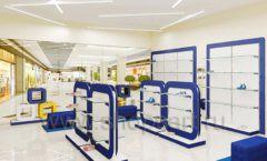 Дизайн магазина детской обуви Котофей Москва торговое оборудование СИНИЙ ВЕТЕР Дизайн 12