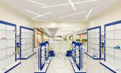 Дизайн магазина детской обуви Котофей Москва торговое оборудование СИНИЙ ВЕТЕР Дизайн 14