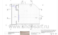 Дизайн проект магазина обуви Sbalo ТРЦ Спектр торговое оборудование СТИЛЬ ЛОФТ Лист 06