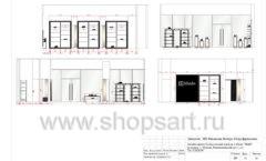 Дизайн проект магазина обуви Sbalo ТРЦ Спектр торговое оборудование СТИЛЬ ЛОФТ Лист 12