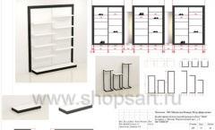 Дизайн проект магазина обуви Sbalo ТРЦ Спектр торговое оборудование СТИЛЬ ЛОФТ Лист 15